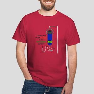 Blood in my Nitrogen Dark T-Shirt