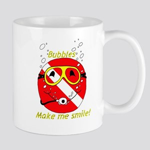 Bubbles Smile Mug
