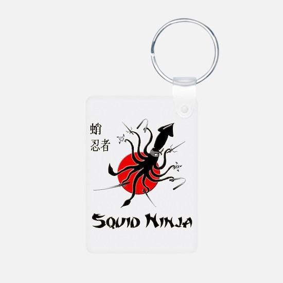 Squid Ninja Keychains
