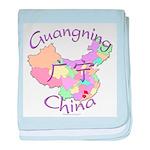 Guangning China baby blanket