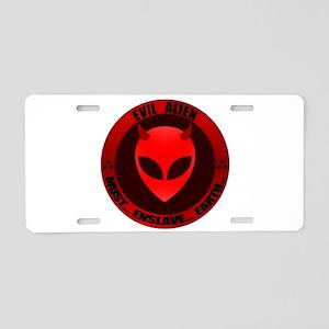EA - ENSLAVE EARTH - Aluminum License Plate