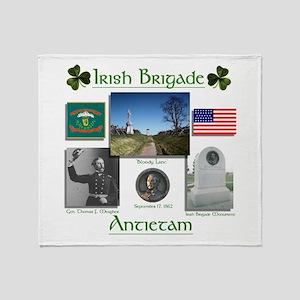 Irish Brigade at Antietam Throw Blanket