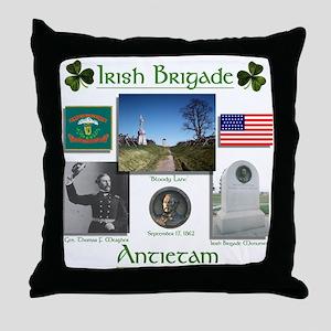 Irish Brigade at Antietam Throw Pillow