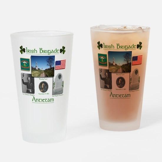 Irish Brigade at Antietam Drinking Glass