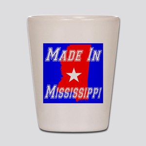 Made In Mississippi Shot Glass