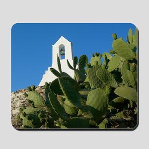 Greek Island Cactus Mousepad