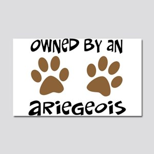 Owned By An Ariegeois Car Magnet 20 x 12