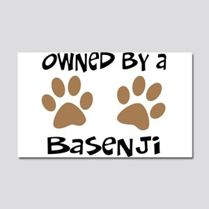 Owned By A Basenji Car Magnet 20 x 12
