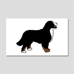 Tri Color Bernese Dog Car Magnet 20 x 12