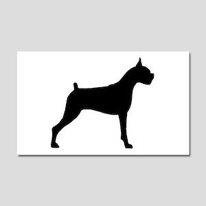 Boxer Dog Car Magnet 20 x 12
