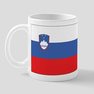 Slovenia Civil Ensign Mug