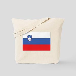 Slovenia Civil Ensign Tote Bag