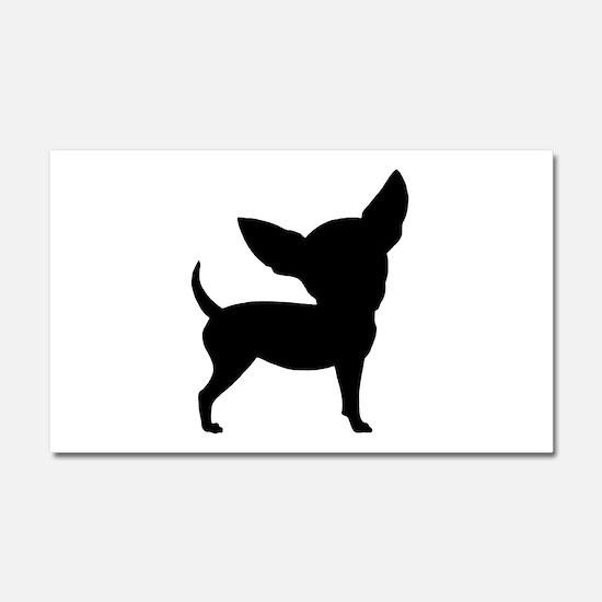 Funny Cute Chihuahua Car Magnet 20 x 12