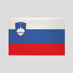 Slovenia Civil Ensign Rectangle Magnet