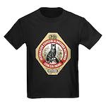 Barcelona Cat Kids Dark T-Shirt