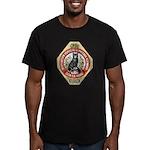 Barcelona Cat Men's Fitted T-Shirt (dark)