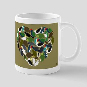 NZ Bird Heart Mug