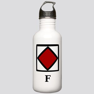 Nautical Letter F Stainless Water Bottle 1.0L