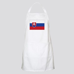 Slovakia Flag BBQ Apron