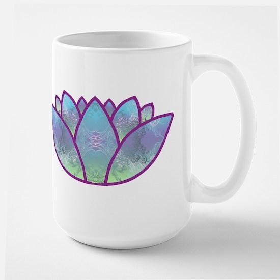 Lotus Large Mug