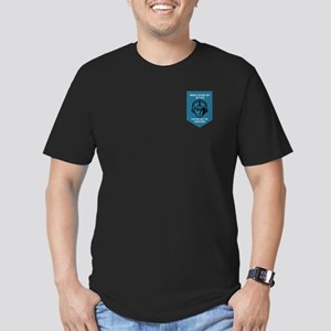 F-8 Crusader Men's Fitted T-Shirt (Dark)