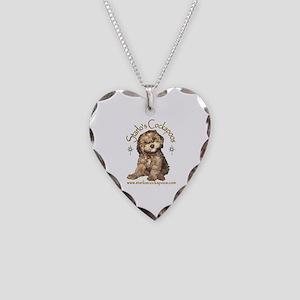 Starlo's Cockapoo Necklace Heart Charm
