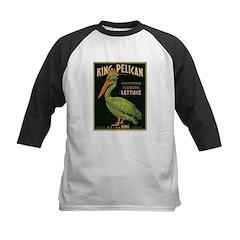 King Pelican Lettuce Kids Baseball Jersey