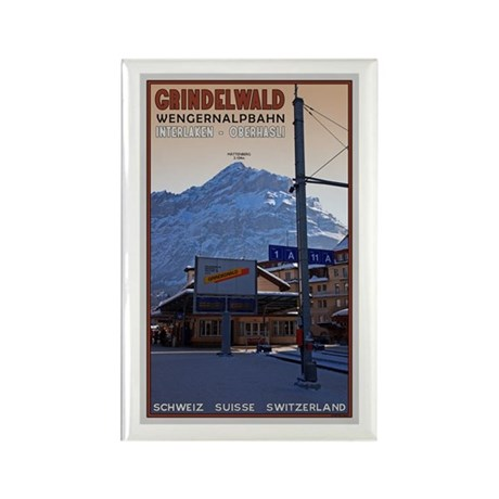 Grindelwald Rectangle Magnet