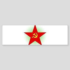 Star And Sickle Bumper Sticker