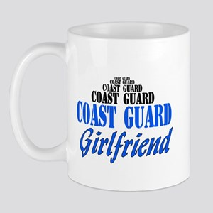 Coast Guard Girlfriend Mug