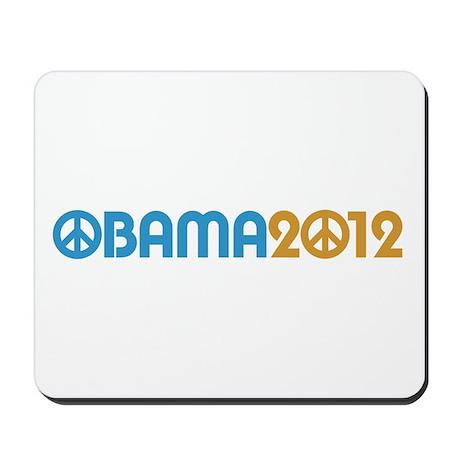 Obama Peace Sign Mousepad