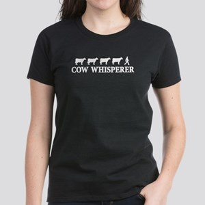 Cow Whisperer Women's Dark T-Shirt