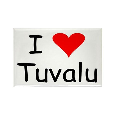 Tuvalu Rectangle Magnet