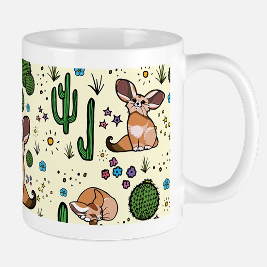 Fennec Foxes Mugs