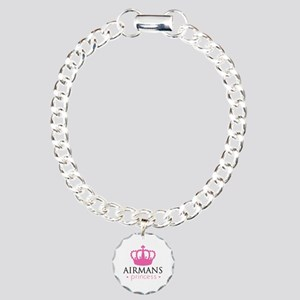 Airmans Princess - Charm Bracelet, One Charm
