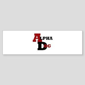 Alpha Dog Sticker (Bumper)