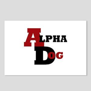 Alpha Dog Postcards (Package of 8)