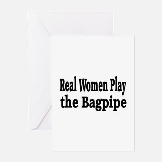Unique Bagpipe band Greeting Card