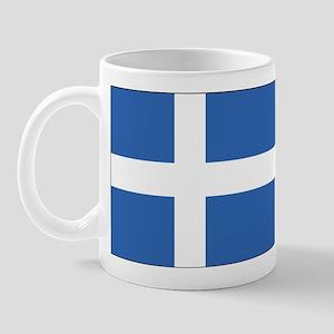 Shetland Islands Flag Mug
