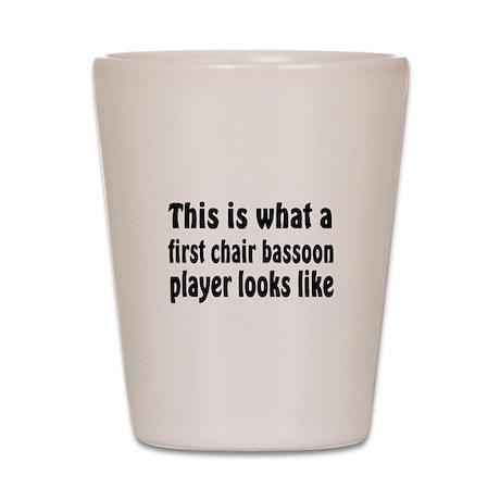 Bassoon Shot Glass