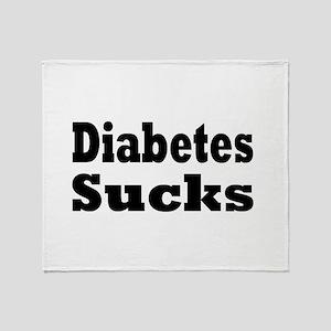 Diabetes Throw Blanket