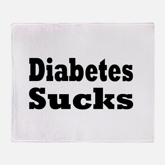 Diabetes Throw Blanket