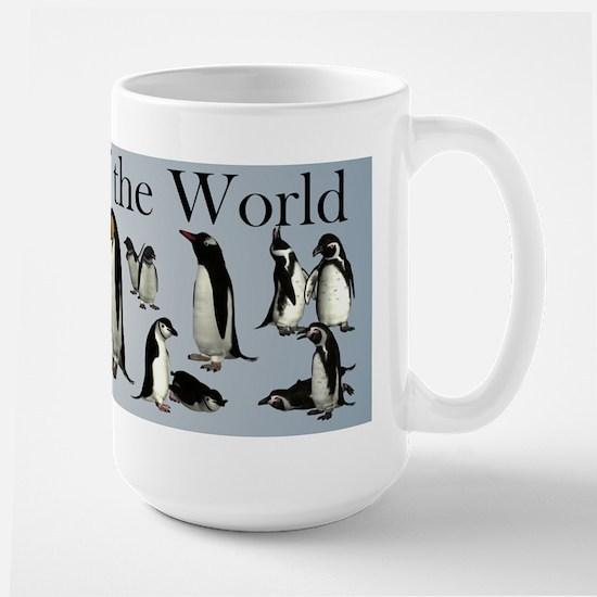 Peguins of the World Coffee Mug