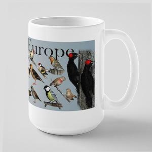 Birds of Europe Large Mug