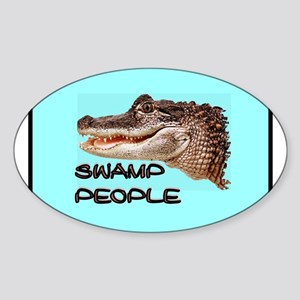 GATOR LAND Sticker (Oval 10 pk)