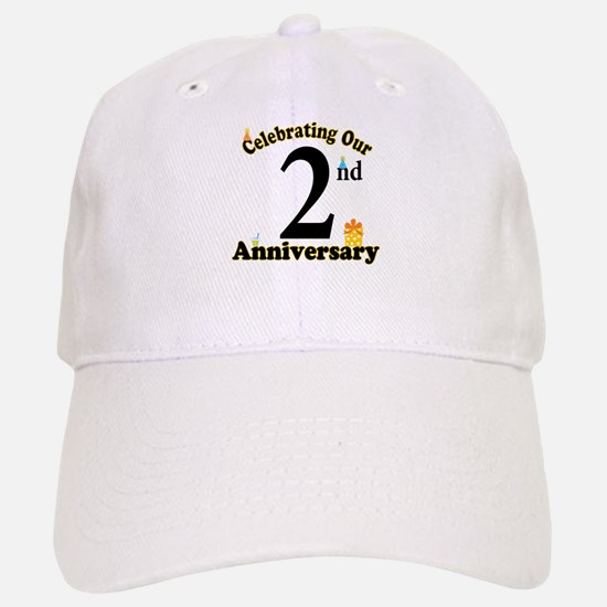 2nd Anniversary Party Gift Baseball Baseball Cap