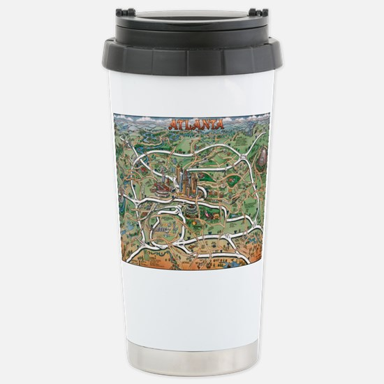 Cute Georgia map Travel Mug