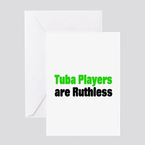 Tuba Greeting Card