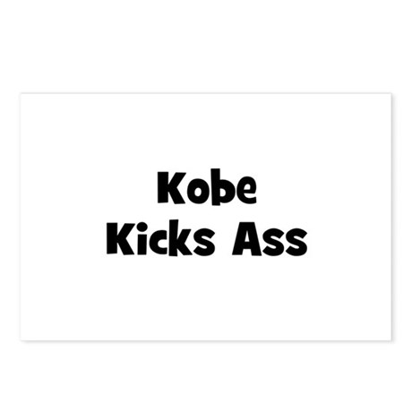 Kobe Kicks Ass Postcards (Package of 8)