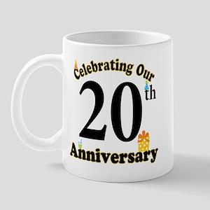 20th Anniversary Party Gift Mug